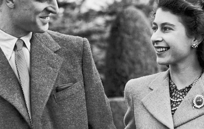 Queen Elizabeth + her Prince Phillip + her beloved
